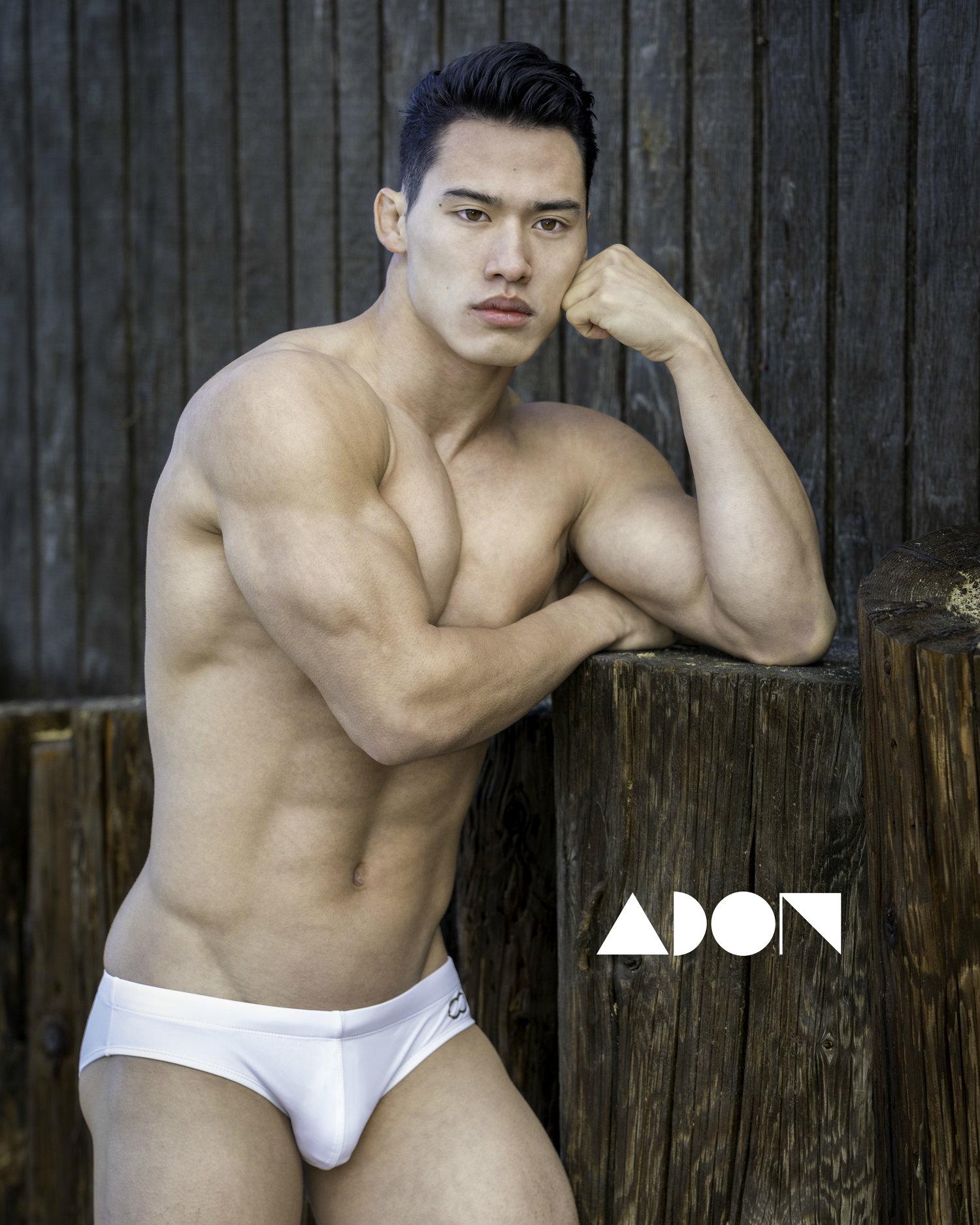 Adon Exclusive: Model Wilson Lai By Anthony Kosinchuk