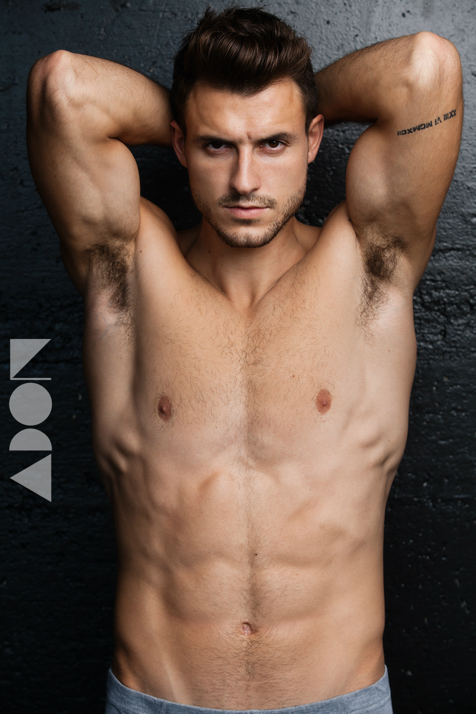Adon Exclusive: Model Ivan Hristozov By Joe Alisa