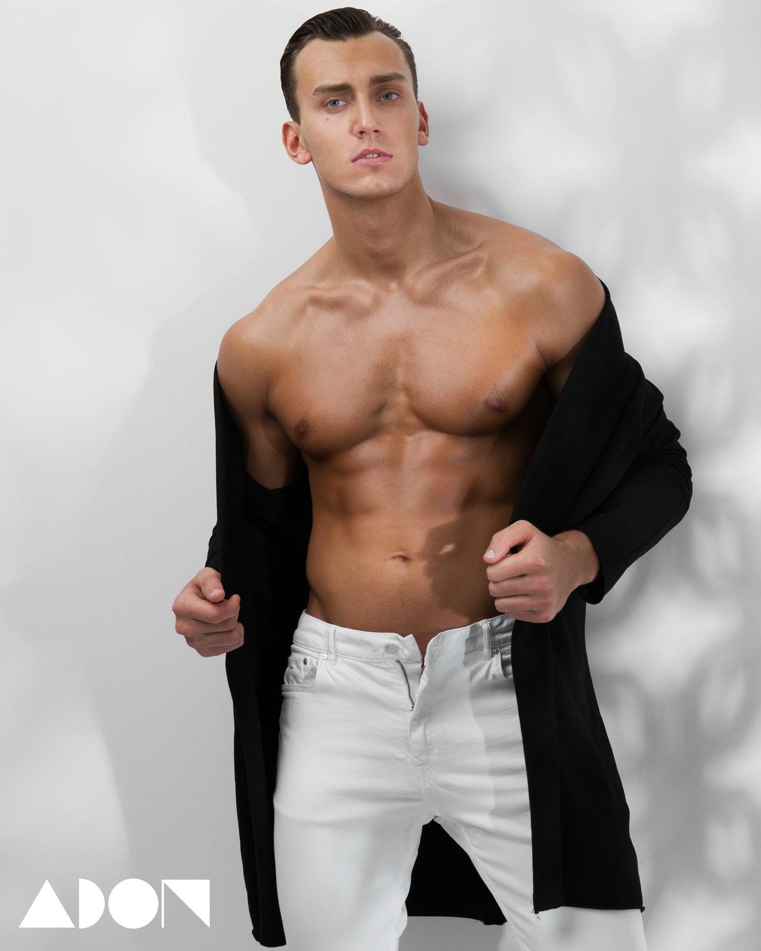 Adon Exclusive: Model Makc Zvonov By Stas Vokman