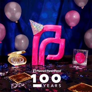 #100yearsstrong #plannedparenthood #thunderclap 🎉🎈🎉#4daysaway #celebrate with @plannedparenthood