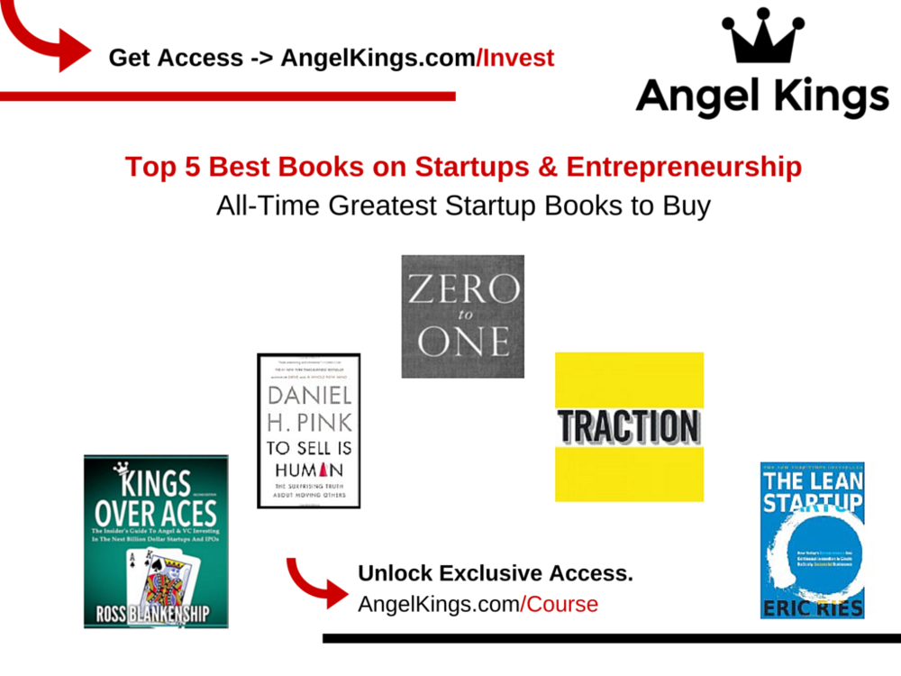 Best Books for Startups & Entrepreneurs