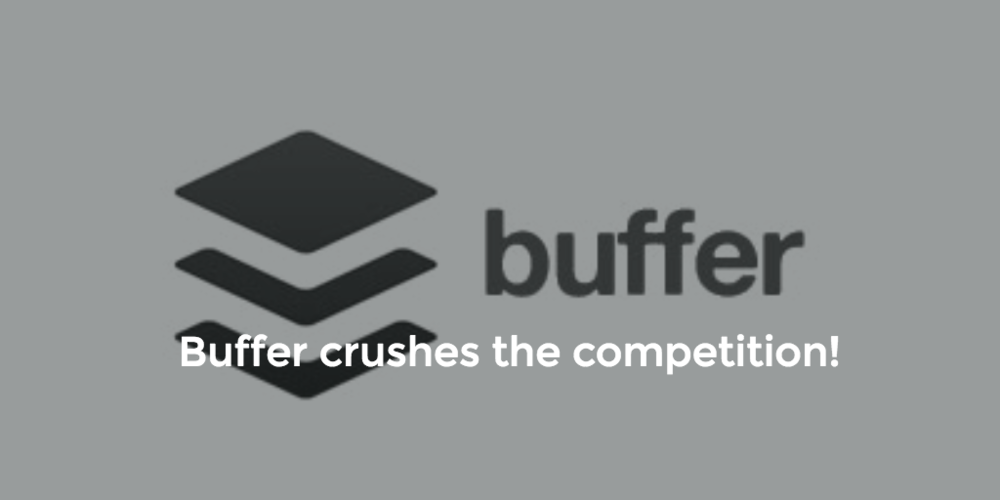 Buffer is our #1 Recommended Marketing Tool for startups.