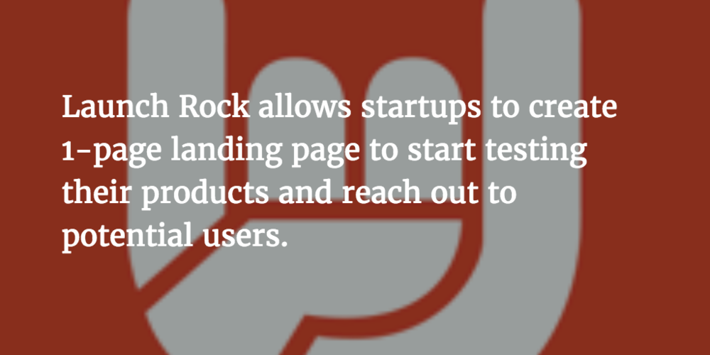 How does Launch Rock compare to other MVP Software Tools?
