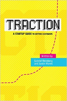 How does Traction help startups gain customers?