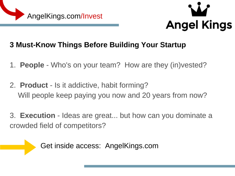 What do you need to know before building your startup?