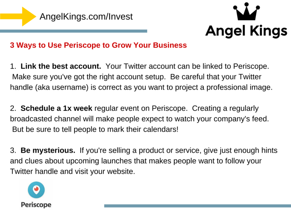 What is Periscope? How can it help businesses grow sales and users?