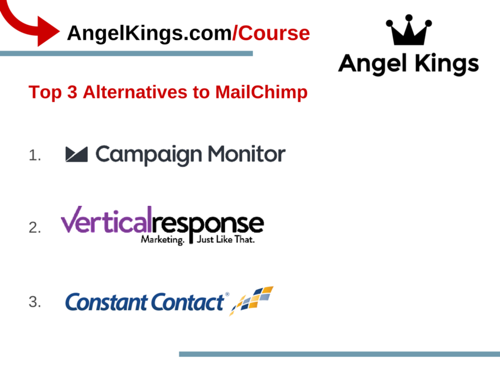 Why are these the best alternatives to MailChimp?