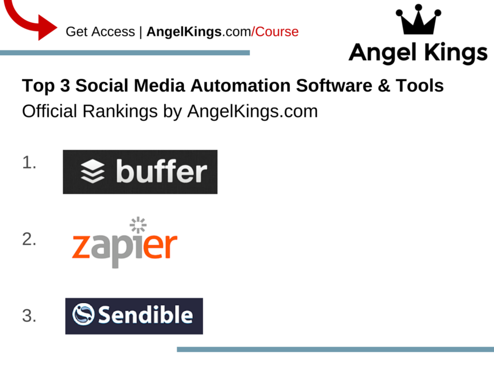 Here are the top 3, best social media automation resources and tools for startups.