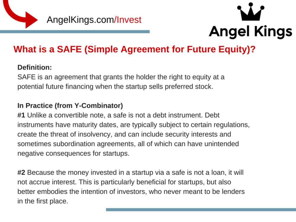 What is the SAFE Agreement and How does it Work for Startups?