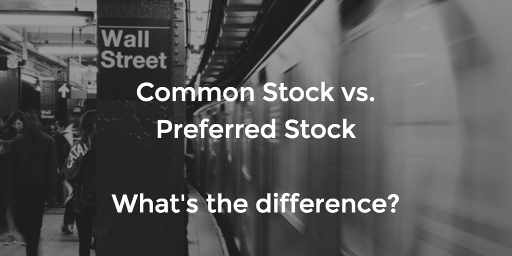 What is the difference between common stock vs. preferred stock?