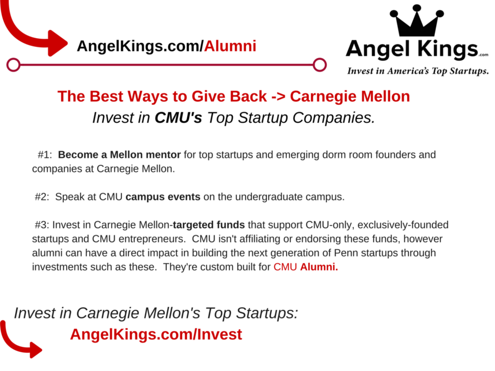 How to Give and Become Part of Carnegie's Alumni Network
