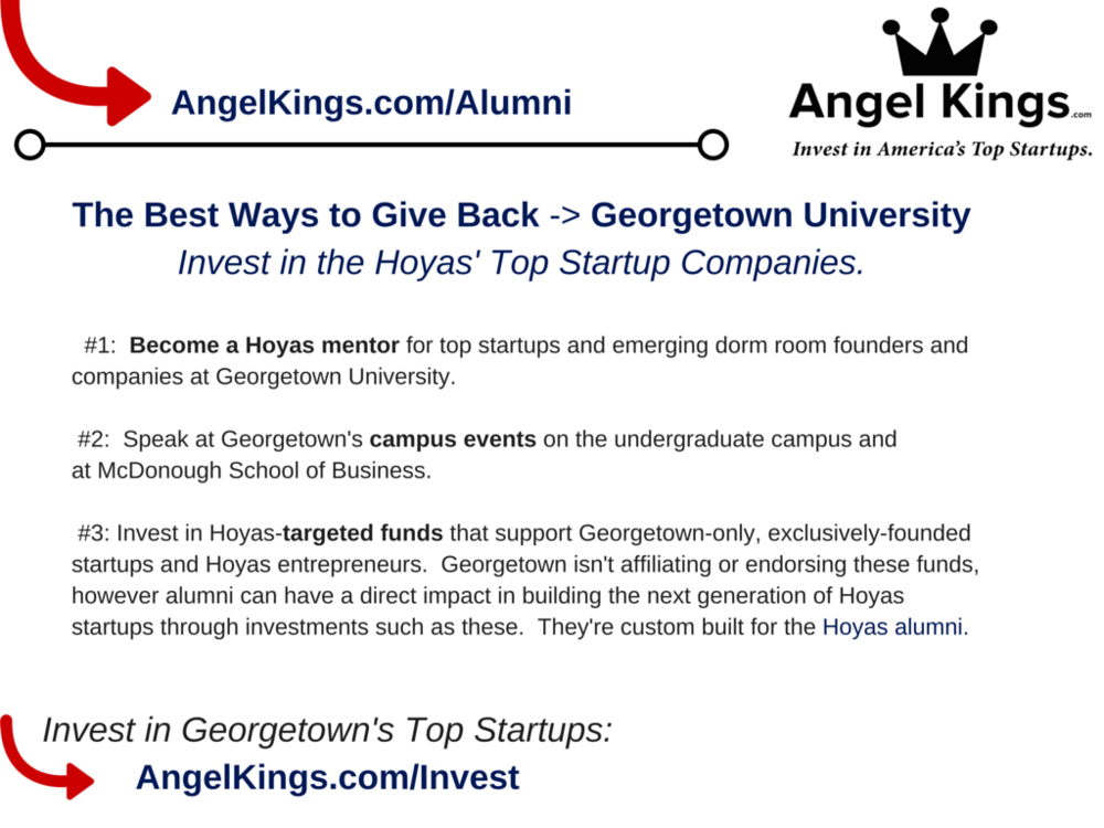 Georgetown Alumni - Angel Network