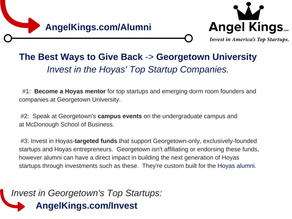 Georgetown Alumni - Angel Network