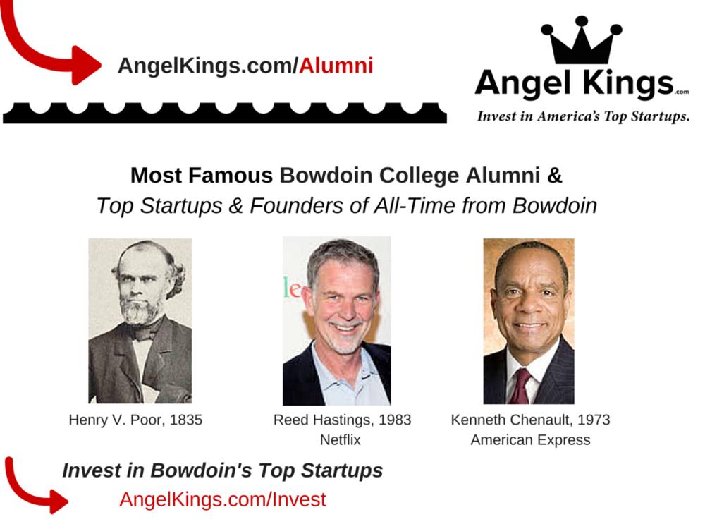 Top Graduates of Bowdoin College in Maine