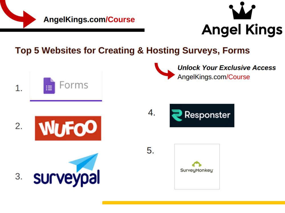 The Best Form and Survey Creators for Your Website. Ranked and Tested.