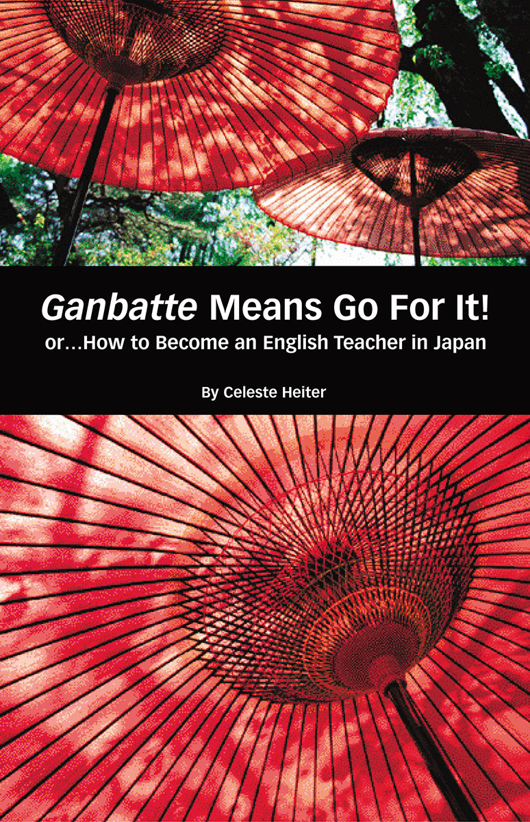 Ganbatte Means Go for it!