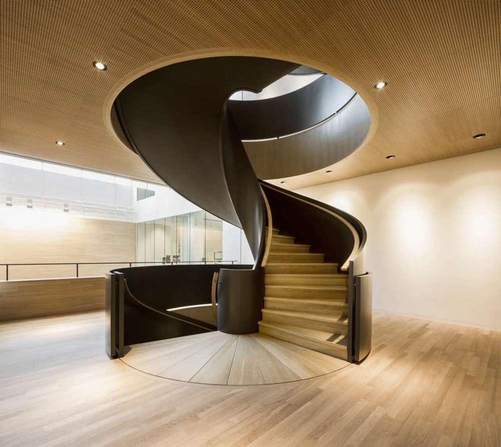 Thanks to Hofman Dujardin Architects, this staircase became the centerpiece in the atrium of a renowned law firm near the Dutch Parliament. Click the photo for the full article showcasing the entire project.