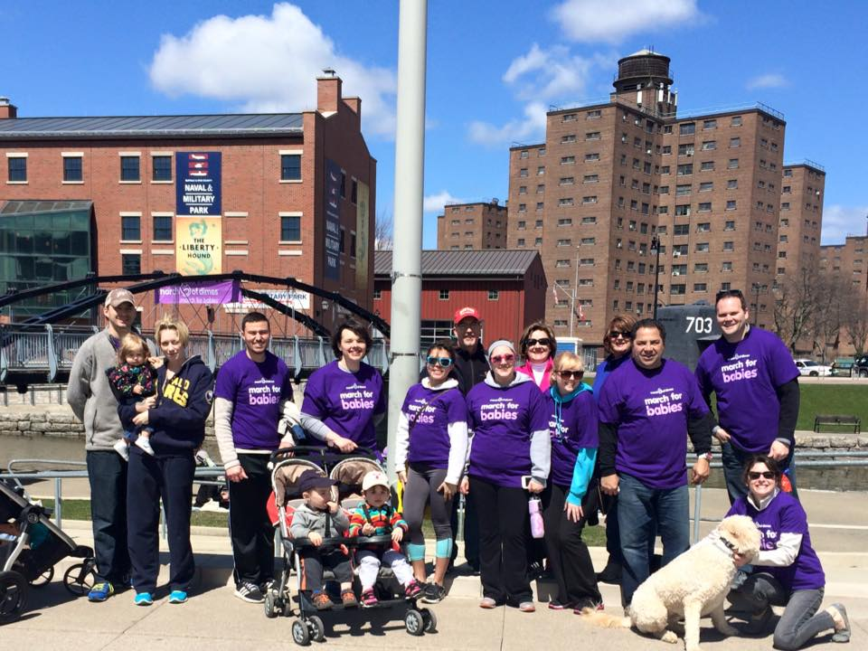 CWM Team at march for babies