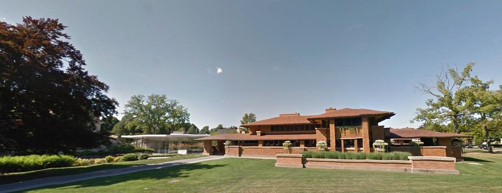 Google Street View, Darwin D. Martin House