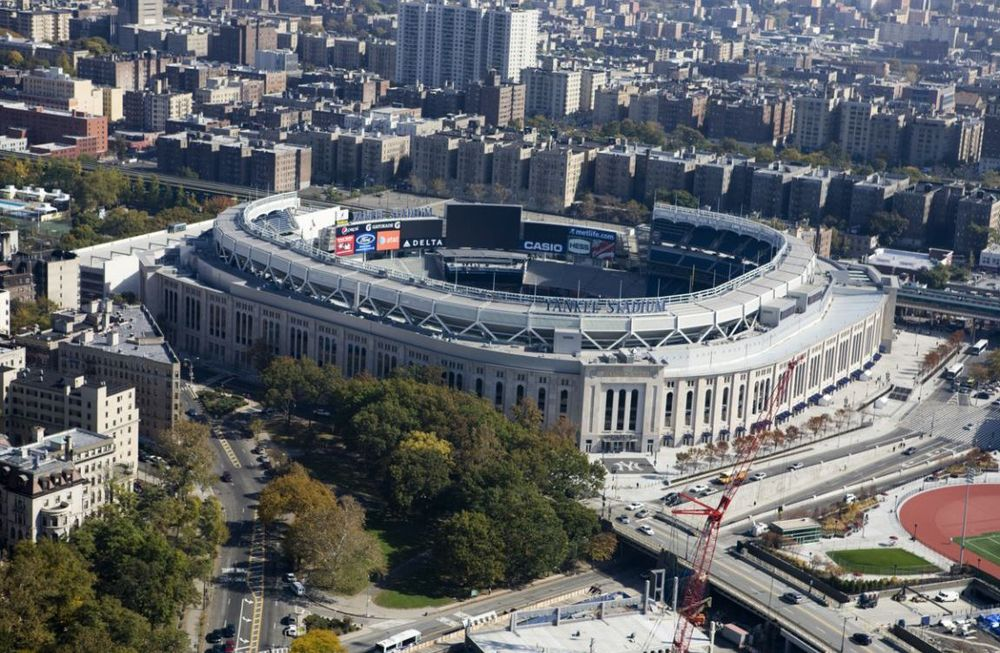 Yankee Stadium is a newly renovated standout venue; image courtesy of  Trip Advisor