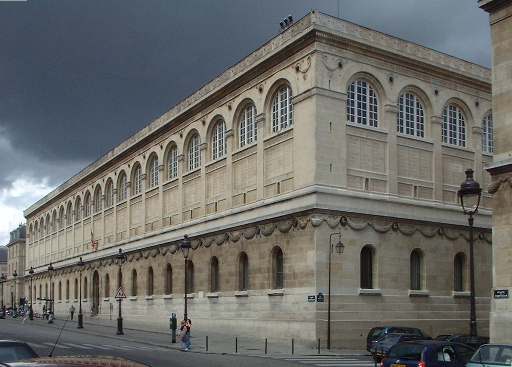 Saint-Genevieve Library Exterior.   Photo Credit: Wikipedia