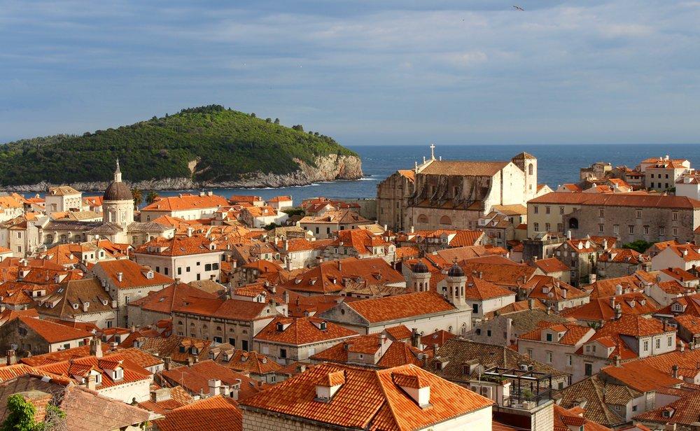 Old Town Dubrovnik bathed in golden light!