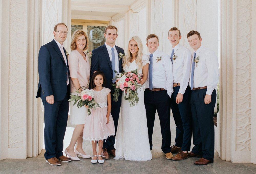 Geoff, Stacy, Addie, Clark, Lauren, Chase, Trey and Taft  Gilbert, Arizona  August 12th, 2016