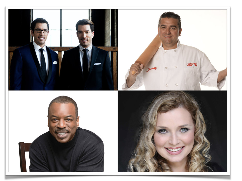 "What do The Property Brothers, Buddy ""Cake Boss"" Valastro, LeVar Burton and CeCe Moore have in common? They are ALL speaking at this year's  RootsTech  event."