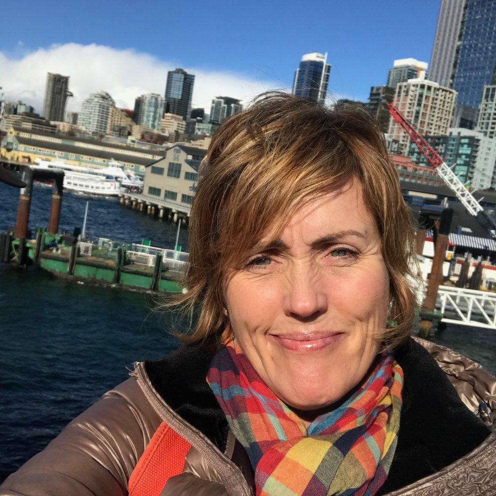 Sunny, Seattle Selfie!