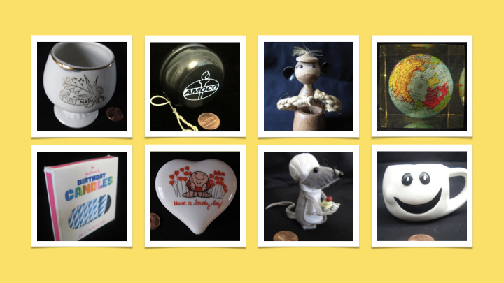 Click   HERE   to learn more about the Insignificant Objects project.