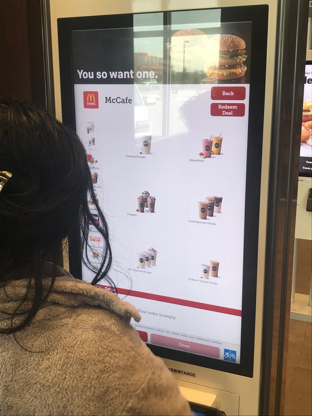 Easy Orders - McDonald's Kiosks