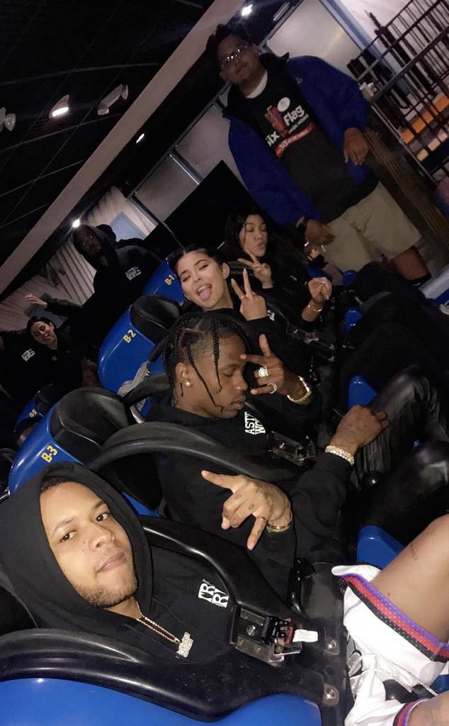 Travis Scott - Kylie Rents the Park for his 26th!