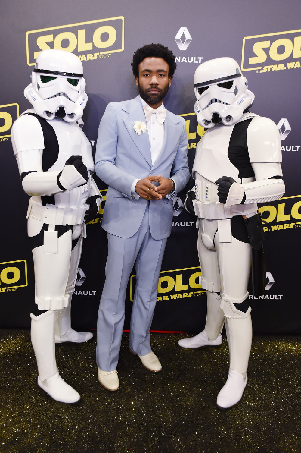 Glover - Solo: A Star Wars Story - Red Carpet Opening
