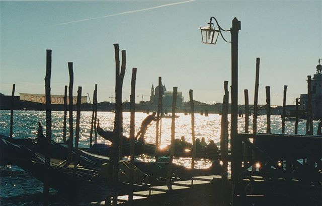 Happy Monday. Venice mornings. #film #35mm #italy