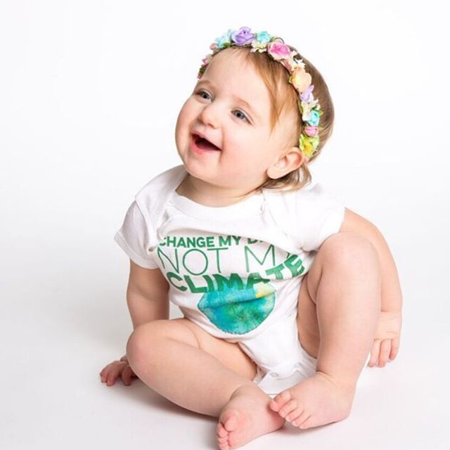 Flower crowns aren't just for the #coachella bound. It's #earthweek and time to #changeclimatechange 🌎#borntobetees