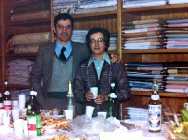 1970    RICCARDO MANNINI  -Father   BALDI VERA -Cofounder/Grandmother