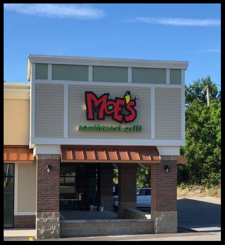 - Moe's Southwest Grill865 Merriam AveLeominster, MA 01453