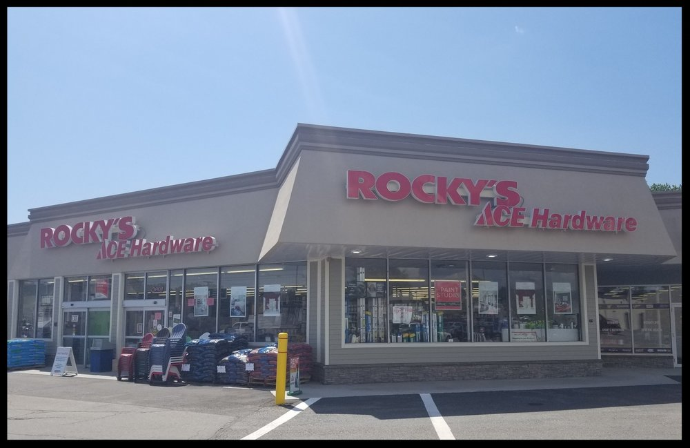 - Rocky's Ace Hardware22 John Fitch HwyFitchburg, M 01420