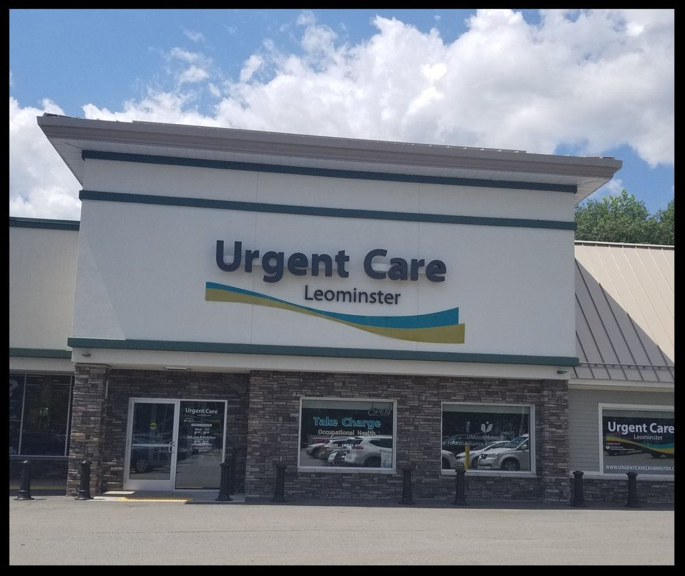 - Umass MemorialUrgent Care510 N. Main StLeominster, Ma 01453