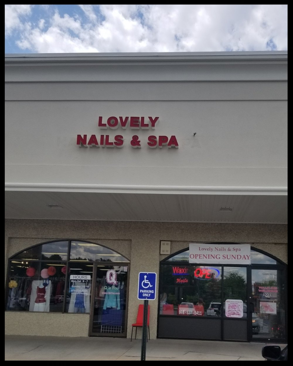 - Lovely Nails & Spa1011 Central StreetLeominster, Ma 01453