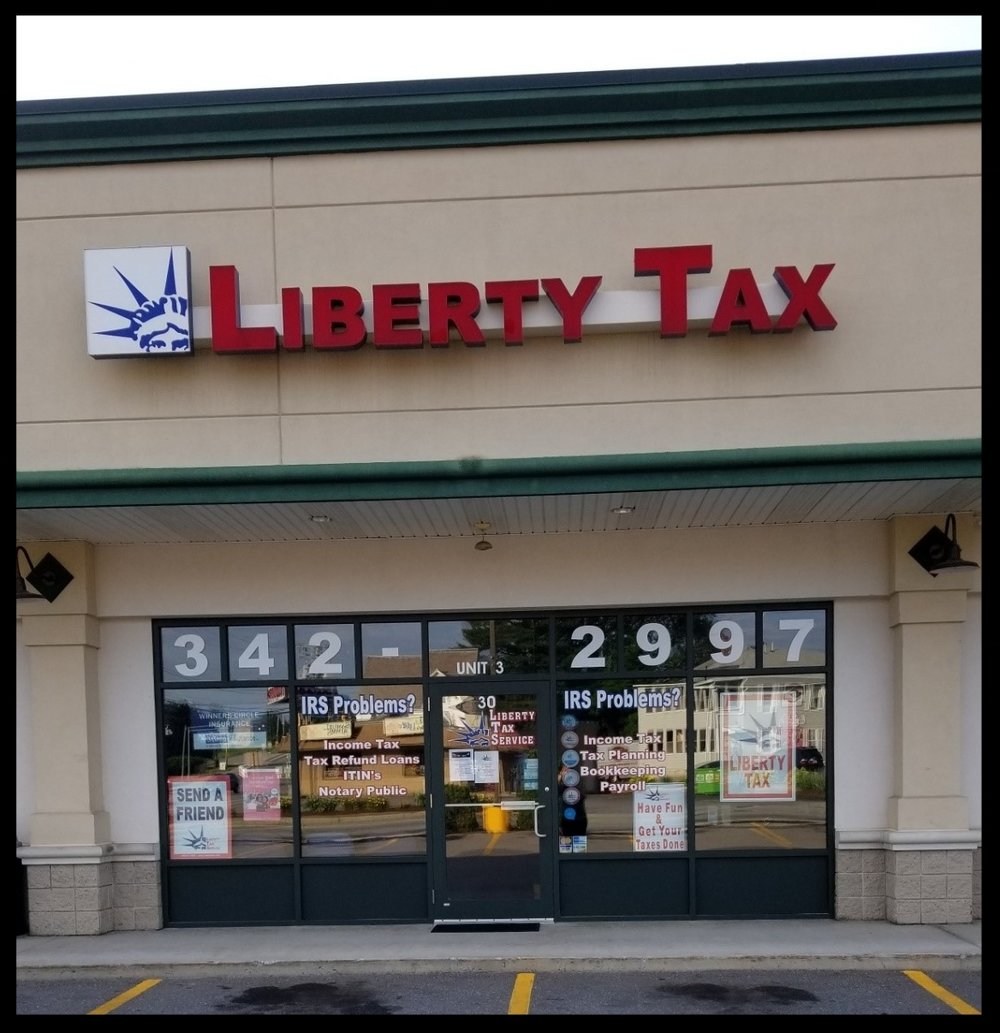 - Liberty Tax30 John Fitch HwyFitchburg, MA 01420