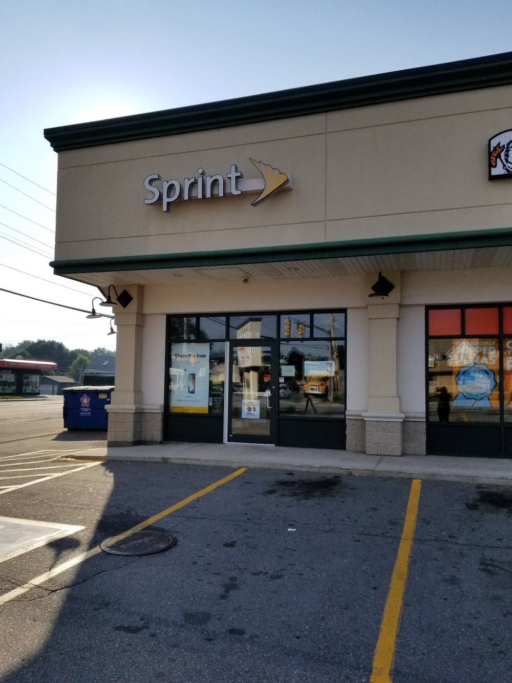 - Sprint30 John Fitch Highway, Fitchburg, MA 01420
