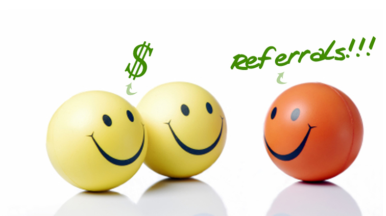 GOT REFERRALS - WE WANT THEM!