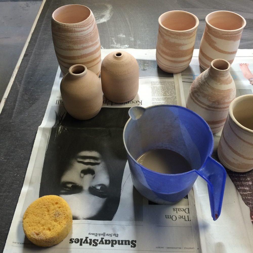 Berkeley Potters' Studio, March 2015