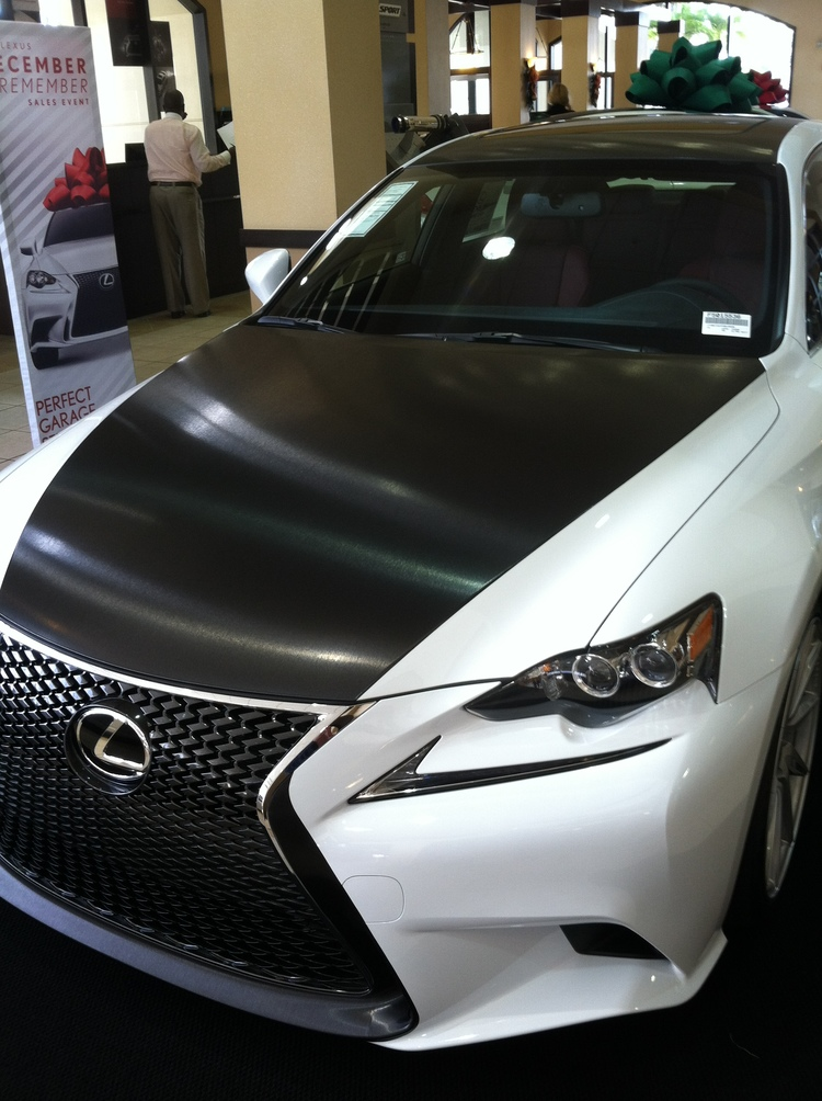 Custom Car Wraps  Auto Safe  Sound - Lexus custom vinyl decals for car