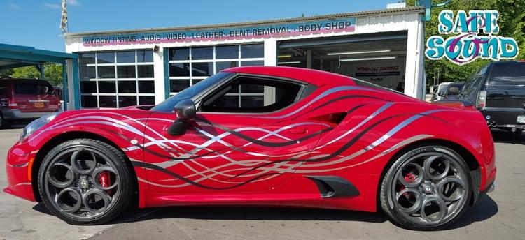 Alfa romeo custom car wrap jpg