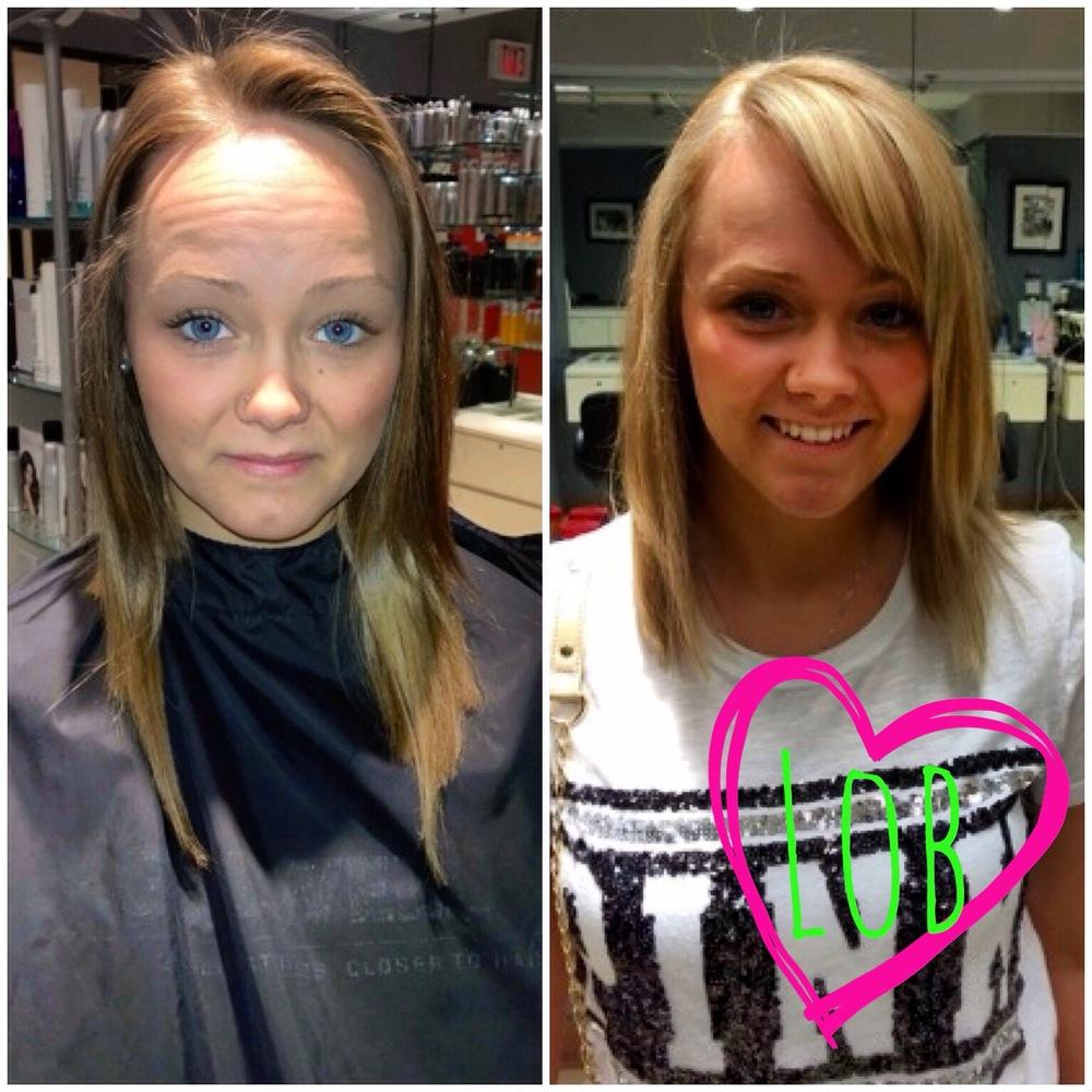 Ashley Thomas,The Salon at Macy's, Grand Traverse Mall Traverse,Michigan USA