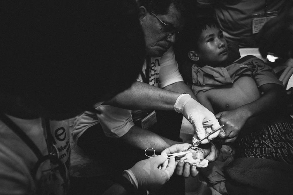 Medicinsk katastrofehjæl, Filippinerne