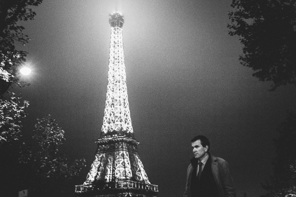Eiffel Tower, Paris, France. Intimate and timeless black & white images from the streets of a seducing city.