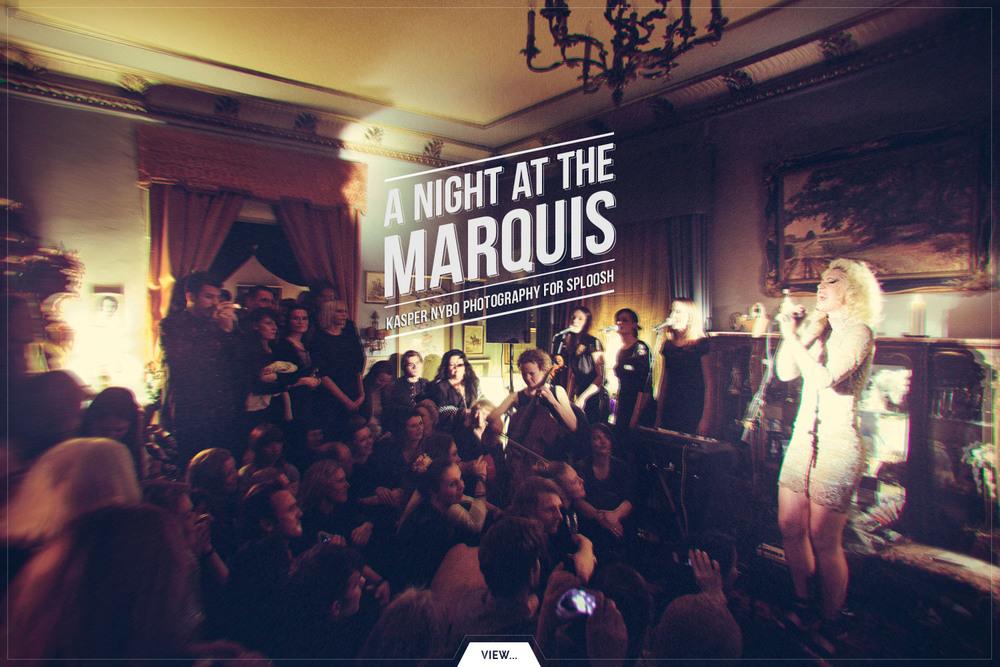 Marquis Marcel De Sade, Ohara and The Golden Salon - it's boheme wonderland! #people